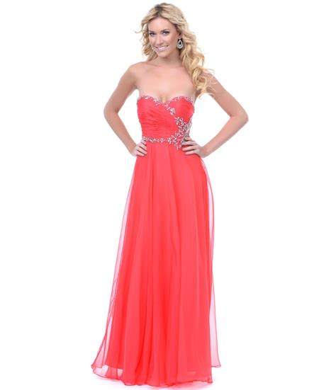 coral color dress coral colored prom dresses ejn dress