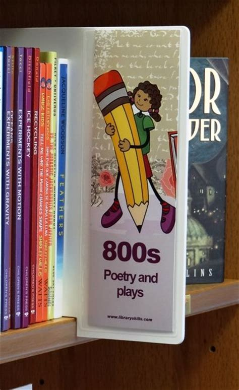 Shelf Markers For Library by 25 Best Ideas About Library Signs On School