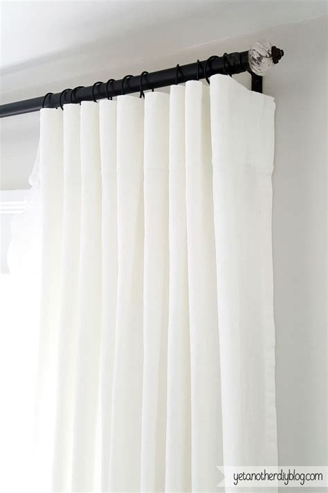 cheap diy curtains make your own super simple and cheap diy curtain rings