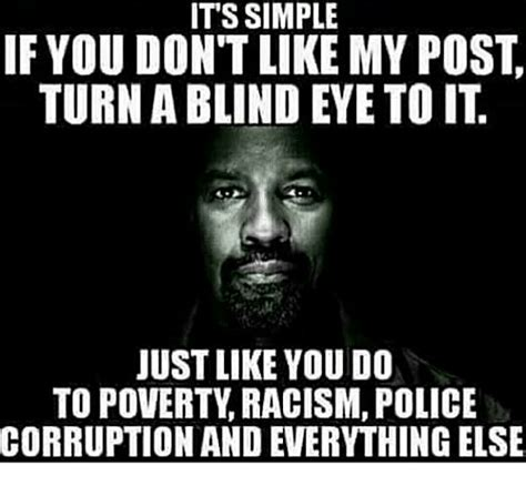 Dont Post It Stikkit by Its Simple If You Don T Like My Post Turn A Blind Eye To