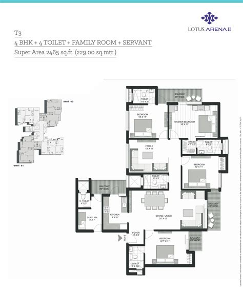 arena floor plan 3 bhk flats in noida 4 bhk flats in noida