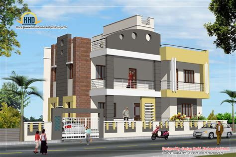 plans and elevations of houses 3 story house plan and elevation 3521 sq ft kerala home design and floor plans