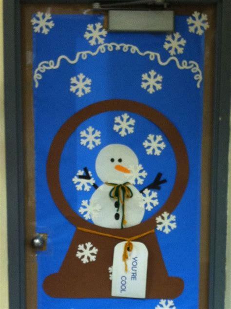 winter door decorations winter door decoration for class bulletin boards