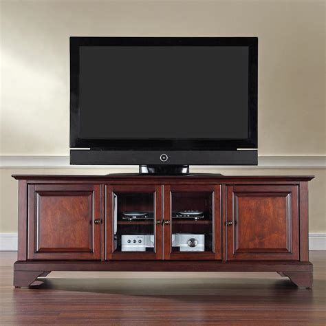 Crosley Lafayette 60 Quot Low Profile Tv Stand By Oj Commerce Low Profile Tv Cabinet