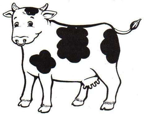 vaca para dibujar dibujos de vacas animadas para colorear imagui car