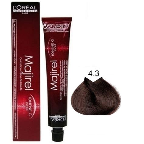 L Or 233 Al Professionnel Majirel 50ml Permanent Colour Capital Hair Vopsea Profesionala 4 3 Majirel L Oreal Professionnel 50 Ml