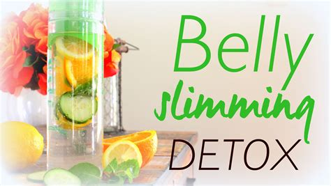 Should I Detox Before I Diet by Belly Slimming Detox Water Recipe