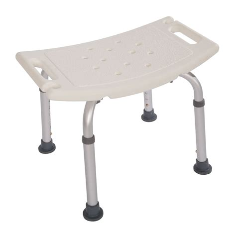 medical bath bench adjustable medical shower chair bath tub seat bench stool detachable ebay