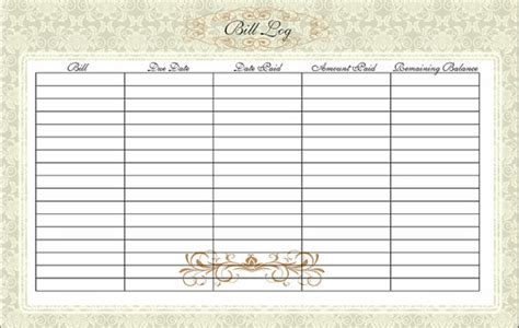 free bill paying organizer template free bill payment calendar new calendar template site