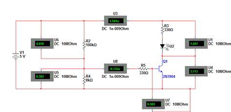calculate resistor value for transistor calculating resistor values for transistor circuit