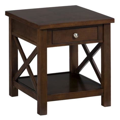 End Tables With Drawers by Jofran End Table With Drawer And Shelf Beyond Stores