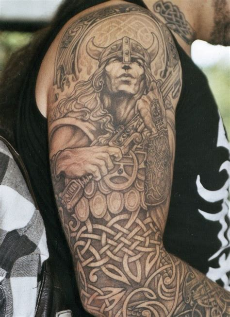 warrior tattoo sleeve designs celtic sleeve tattoos for tattoos
