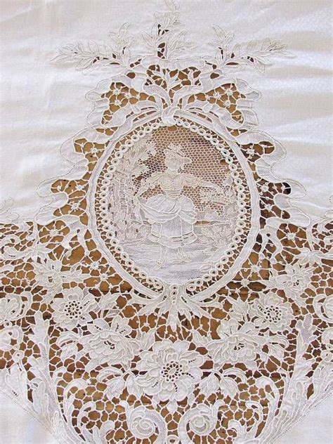 17 best images about vintage handkerchief tablecloths on