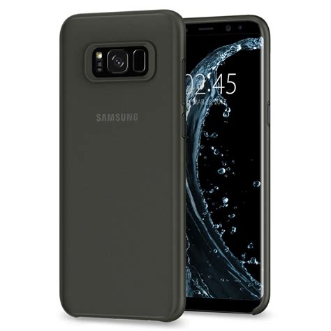Original Spigen Air Skin Samsung Galaxy S8 S8 Plus Soft Clear the best thin and light clear galaxy s8 or s8 cases