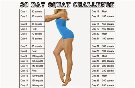 30 day squat challenge for search results for 30 day squat challenge calendar