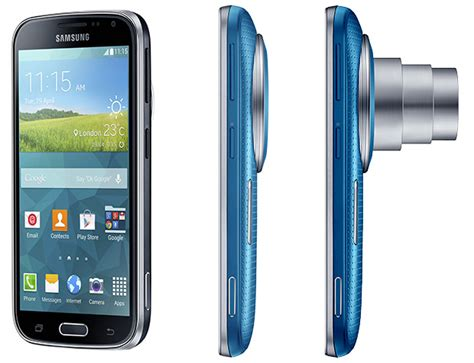 android zoom samsung galaxy k zoom android cameraphone packs 20mp sensor and 24 240mm zoom