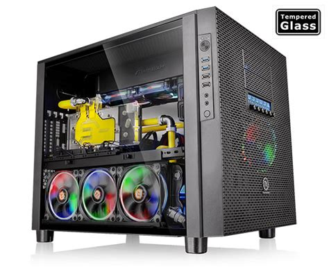 Cube Gaming Iklo White Acrylic Window Gaming Chassis thermaltake germany x5 tempered glass edition ca 1e8 00m1wn 02
