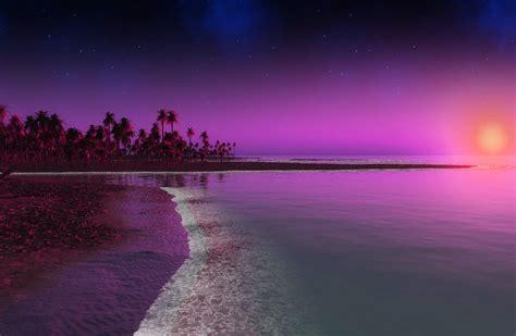 imágenes de paisajes muy bonitos fondo escritorio paisaje bonito anochecer playa