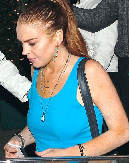 Lindsay Lohan Has A Healthy Appetite by Lindsay Lohan Steps Out Looking Healthy With Look