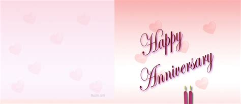greeting card template anniversary 30 word creative anniversary cards that will be appreciated a lot