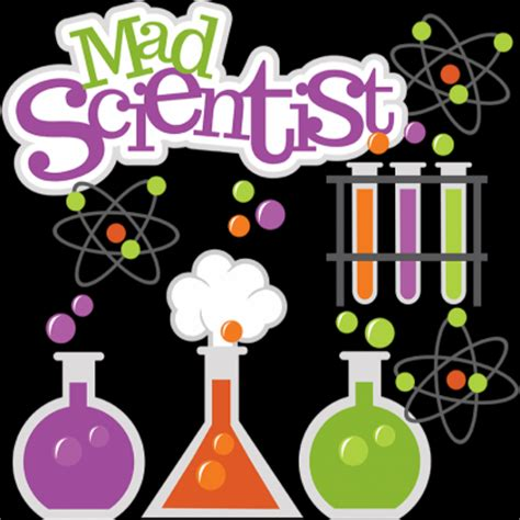 mad science cliparts   clip art