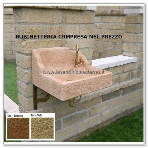 lavelli in pietra da esterno lavandini da giardino nonno luigi aq8400rok lavandini da