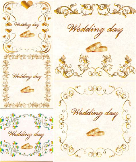 Wedding Card Vector by Wedding Cards Designs Vector Vector Graphics