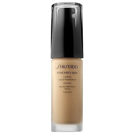 Foundation Shiseido Synchro Shiseido Synchro Skin Lasting Liquid Foundation 12 Best
