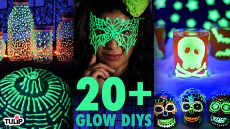 glow in the paint experiments the ultimate glow in the diy roundup 20 diy project