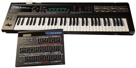 Keyboard Roland D50 the history of roland part 3