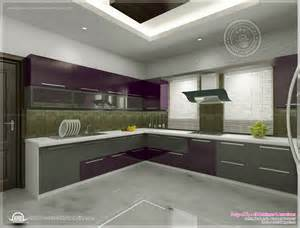 Indian Home Interior Design Photos Middle Class Kitchen Interior Views By Ss Architects Cochin Kerala
