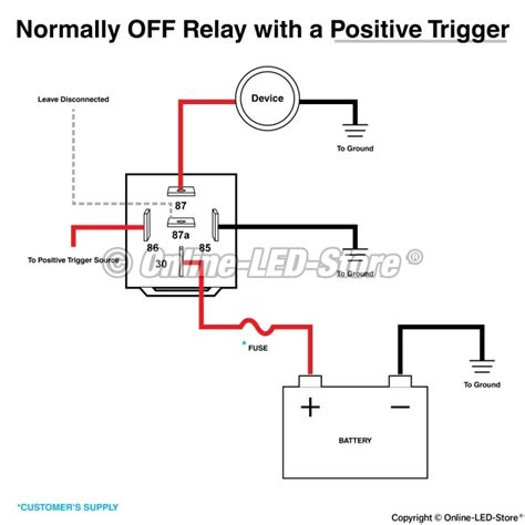 relay diagram 5 pin wiring 5 pin 2 throw relay wiring