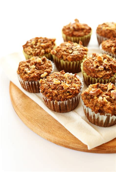 Light Walnut By Minimarket Vegan healthy carrot muffins minimalist baker recipes