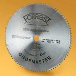 forrest table saw blades forrest 12 quot chopmaster signature line saw blade 90 teeth