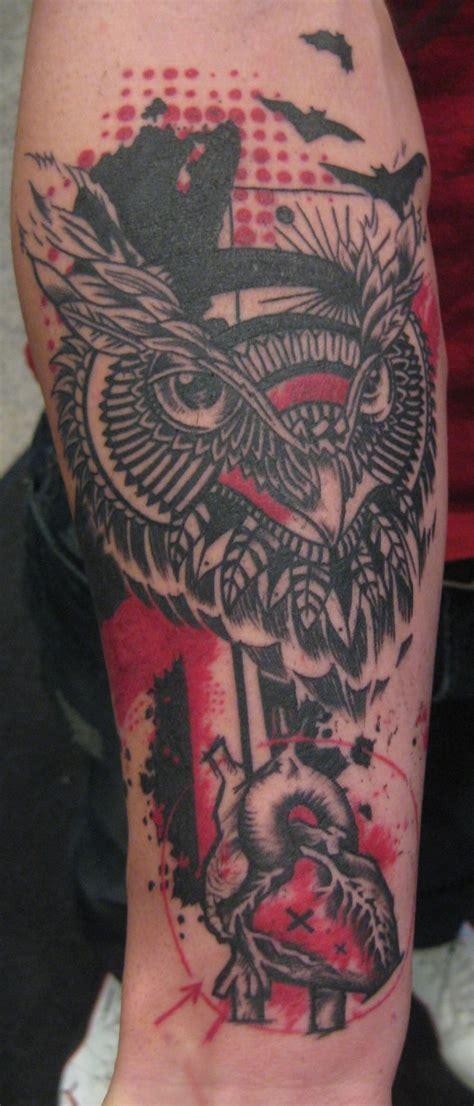 trash polka tattoo artists 64 best trash polka tattoos images on trash