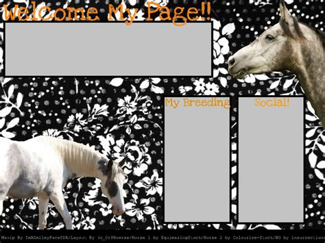 layout maker for howrse layout for howrse by imasmileyface on deviantart