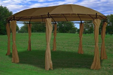 Cheap Gazebos With Sides For Sale Outdoor Gazebos 11 X17 Deluxe Steel Frame Gazebo With