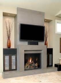 fireplace designs grey concrete fireplace designs iroonie com