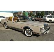 1988 Lincoln Town Car 50 Convertible  YouTube