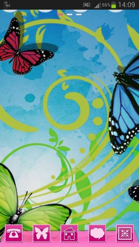 go launcher themes butterfly go launcher theme butterflies free android theme download