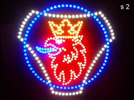 24 Volt Led Lights Scania Led Logos Truck Lite Logos Led Signs Custom Designs