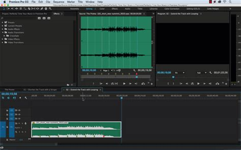adobe premiere pro loop video how to perfectly time your music in premiere pro