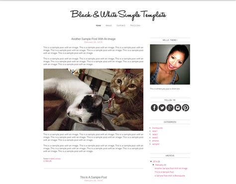free blogging templates color it you design and tips free templates