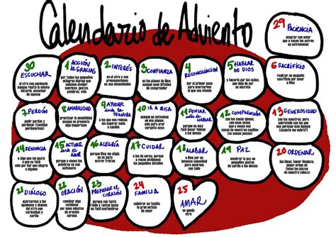 Q Es Calendario De Adviento 2015 Calendario De Adviento Para Ninos