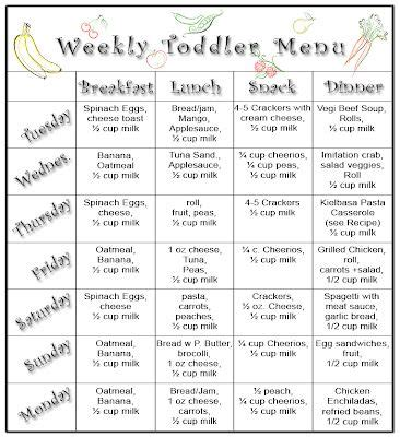 12 best images about 1 year old meal plan on pinterest