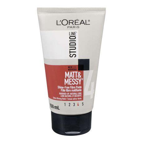 l or 201 al paris studio line out of bed hair styling gel l or 233 al paris studio line matt messy fibre paste