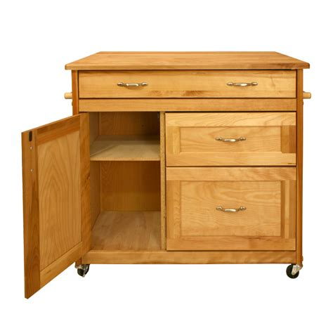 Kitchen Islands With Drawers | kitchen island cart with deep drawers drop leaf