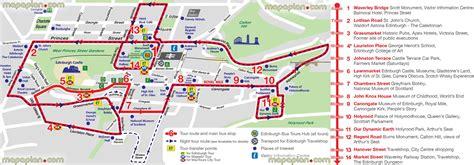printable maps edinburgh maps update 21051488 tourist map of edinburgh