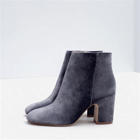 high heel velvet ankle boots ankle boots shoes