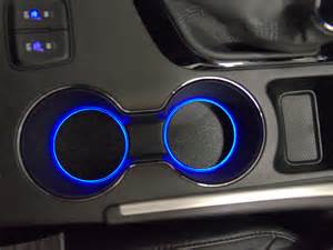 Car Console Lighting Led Cup Holder Lights Accentglowled